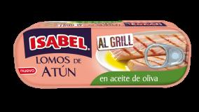 Lata de lomos de atún Al Grill en aceite de oliva 120 g