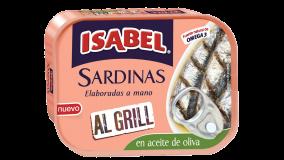 Lata de sardinas Al Grill en aceite de oliva 120g