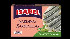 Lata sardinillas en aceite de oliva 81g